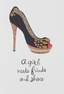 Friends and Great Shoes Friendship Card,