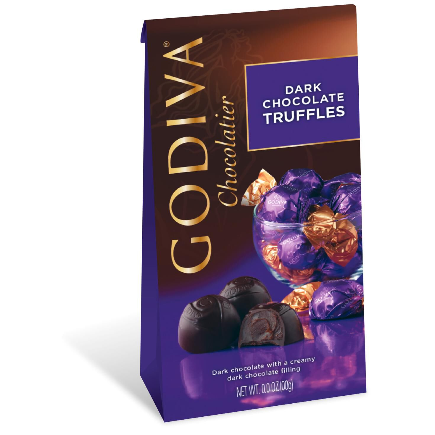 Godiva Chocolatier Individually Wrapped Dark Chocolate Truffles ...
