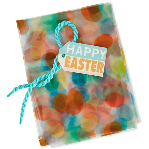 "Eggs Easter Basket Gift Bag With Tag and Tie, 24"", ..."