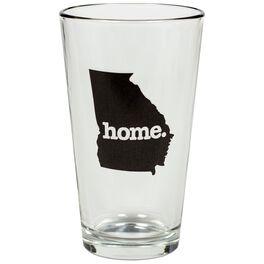 Georgia Home State Silhouette Pint Glass, , large