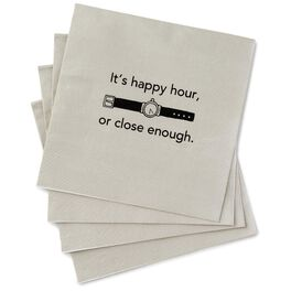 Happy Hour Beverage Napkins, Pack of 20, , large