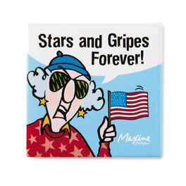 Stars and Gripes Maxine Magnet, , large