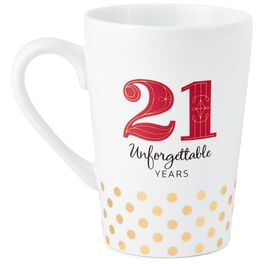 21 Unforgettable Years Mug, , large