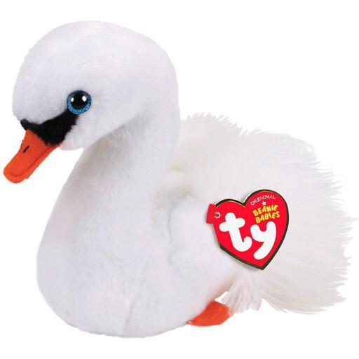 a6beb1042fe Ty Beanie Babies Gracie White Swan Stuffed Animal