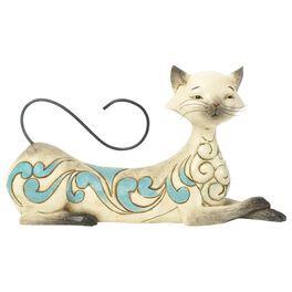 Jim Shore® Maya the Lying Siamese Cat Figurine, , large