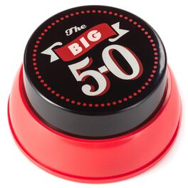 The Big 5-0 Button with Sound, , large