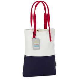 Power of a Loving Teacher Canvas Tote, , large