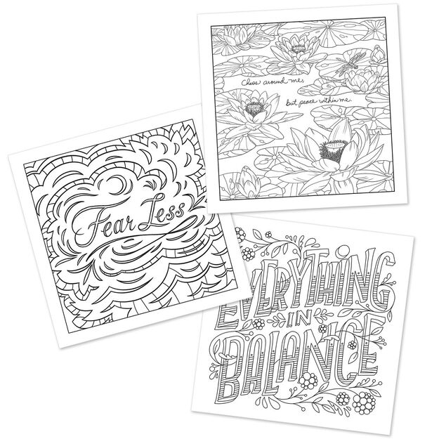 The Art Of Mindfulness Coloring Book
