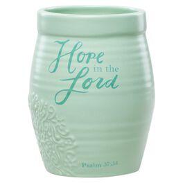 DaySpring Hope Ceramic Vase, 4.25x6.5, , large