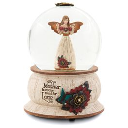 Mother Angel Musical Water Globe, , large