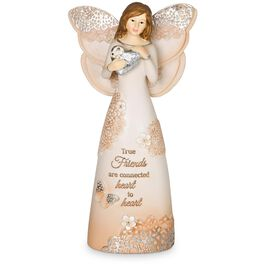 Light Your Way Every Day Friends Angel Figurine, , large