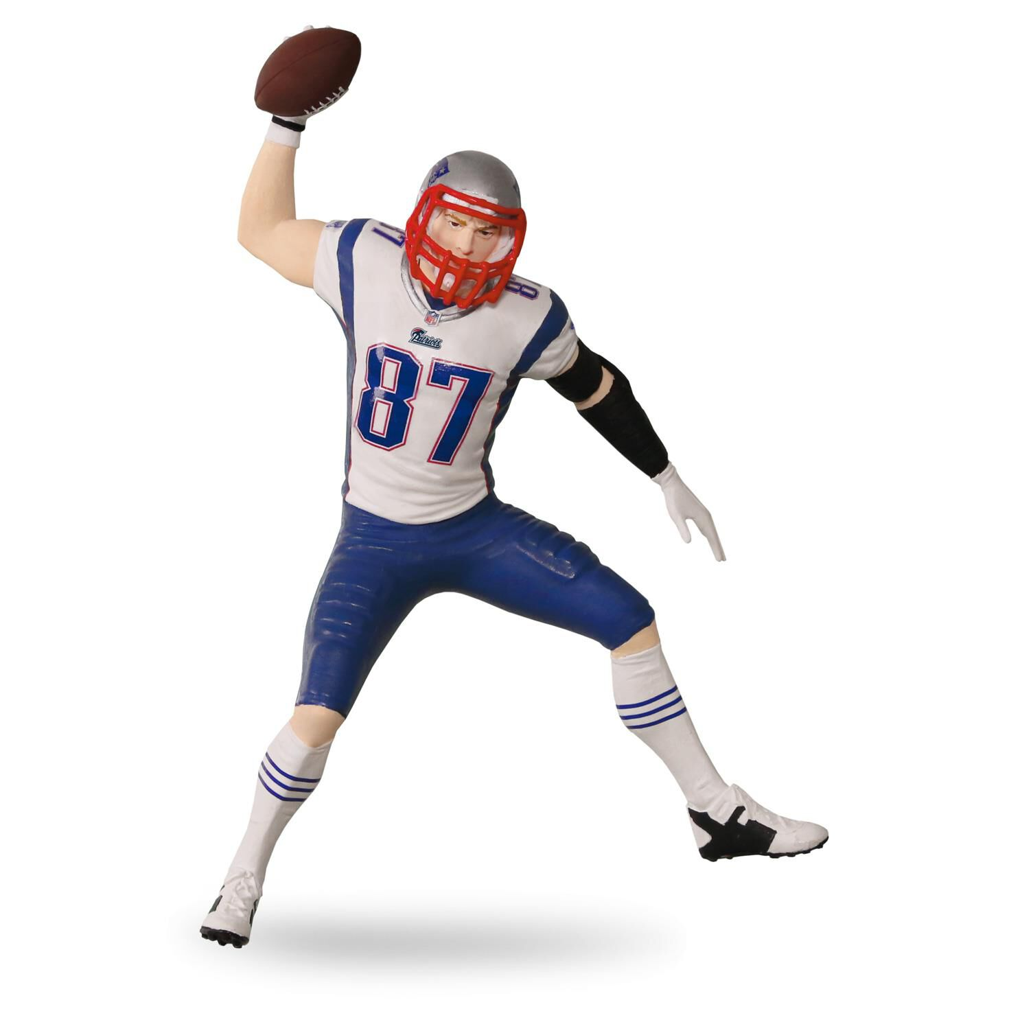 Football player ornament - Rob Gronkowski New England Patriots Football Legends Ornament Keepsake Ornaments Hallmark