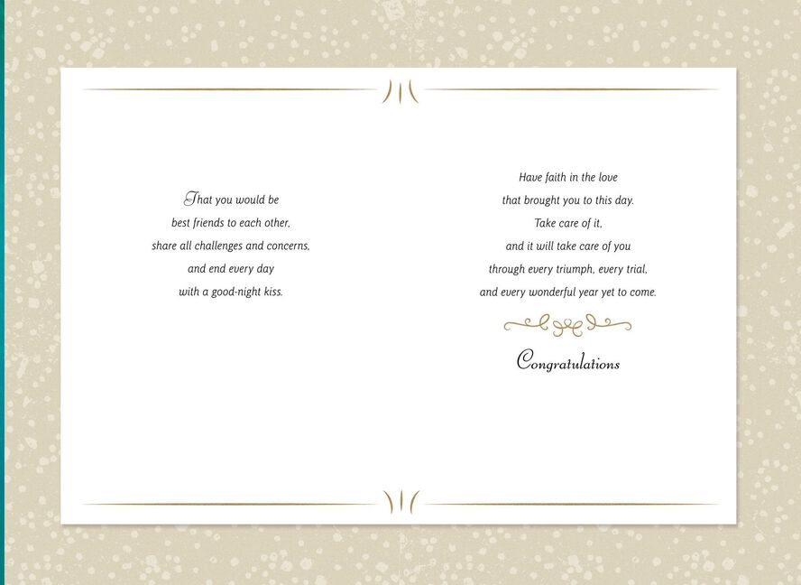 Wishes For Your Marriage Congratulations Card Greeting Cards