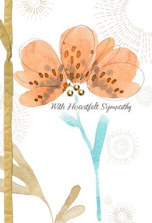 Gentle Blooms Sympathy Card