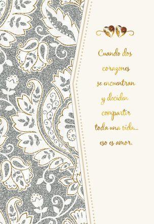 Lifetime of Love Spanish-Language Wedding Card