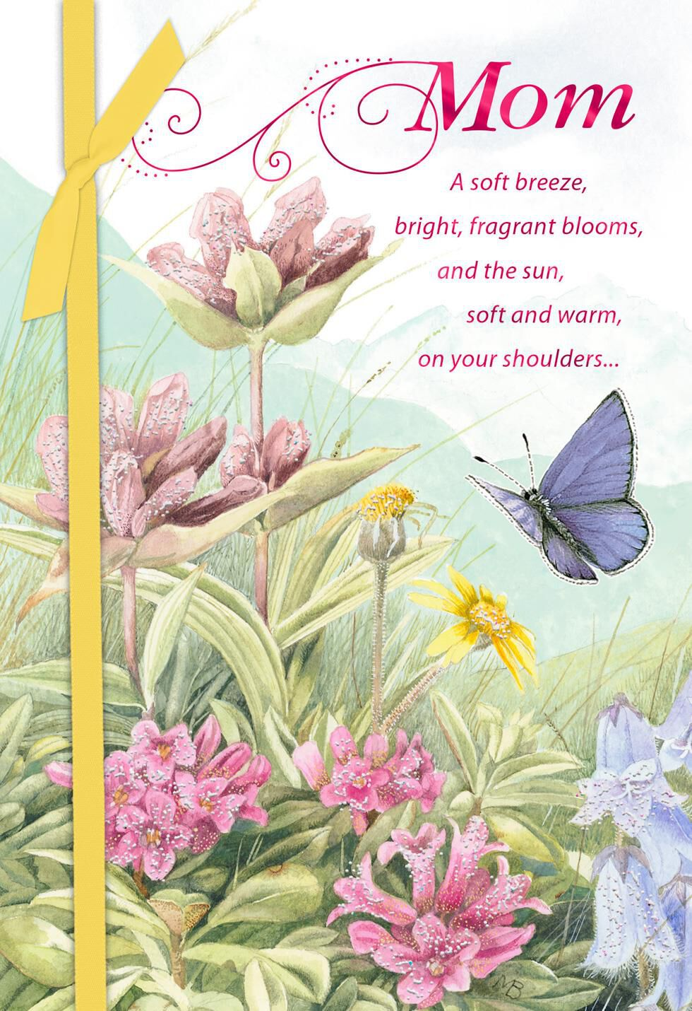 marjolein bastin beautiful wishes mother's day card
