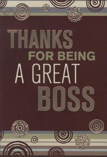 Grateful for You Boss's Day Card,