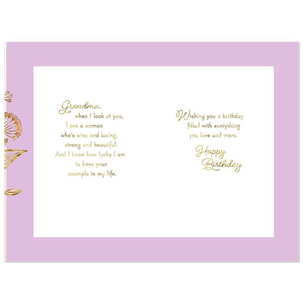 Granddaughter Grandma Youre Loving Birthday Card From