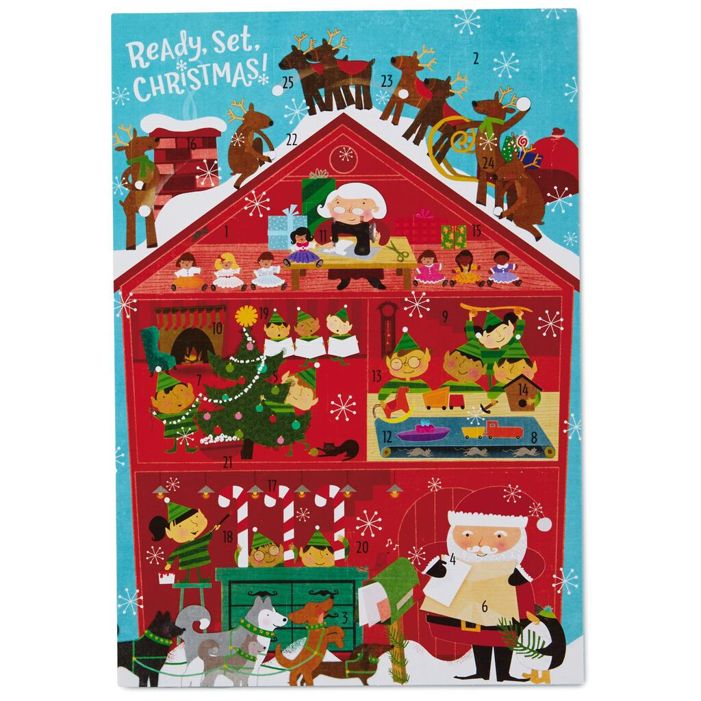 Christmas Advent Calendar.Ready Set Christmas Advent Calendar