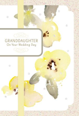 You're Our Pride, Granddaughter Wedding Card