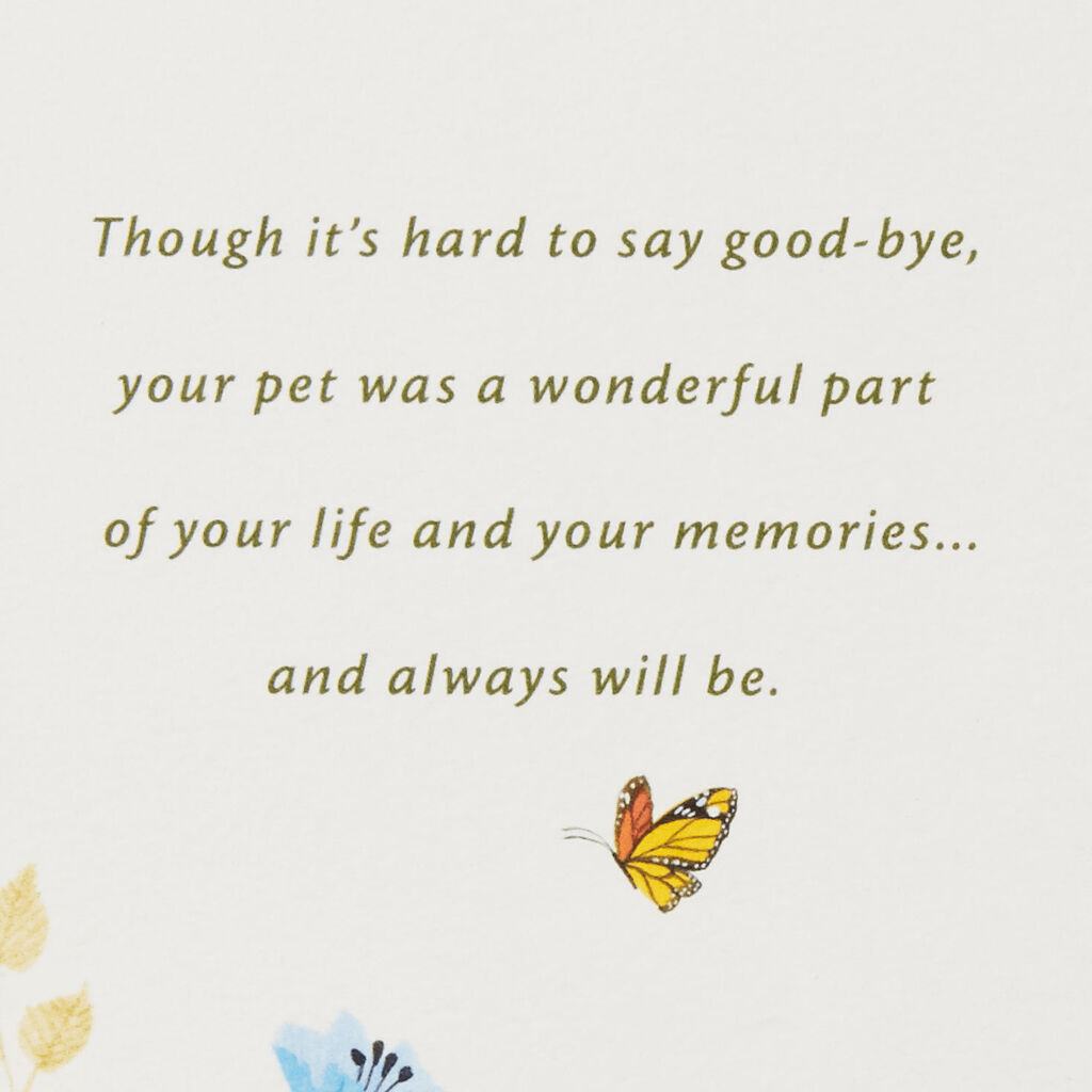 Loss Of Pet >> Tree Canopy Loss Of Pet Sympathy Card