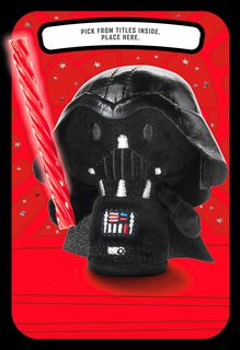 itty bittys® Star Wars™ Darth Vader™ Pick a Title Valentine's Day Card,