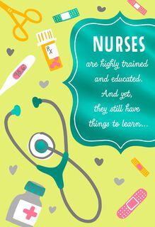 Nurses day cards hallmark highly trained and highly appreciated nurses day card m4hsunfo Choice Image