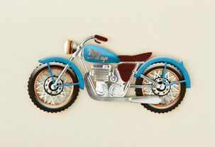 Rev It Up Motorcycle Birthday Card