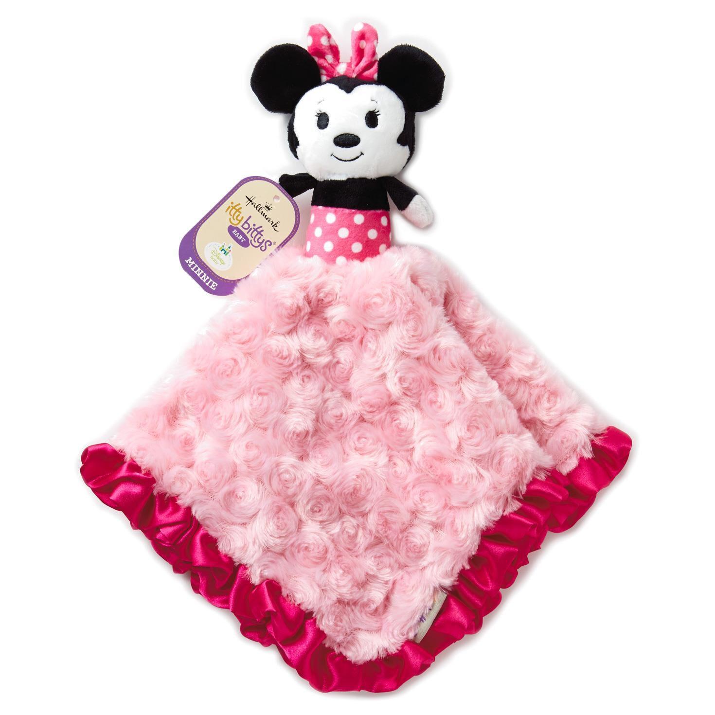 itty bittys minnie mouse baby lovey baby essentials hallmark