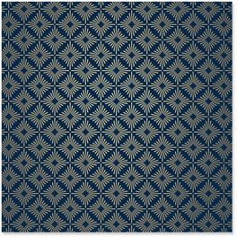 Navy Starbursts Wrapping Paper Roll, 22.5 sq. ft., , large