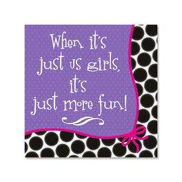 Just More Fun Cocktail Napkins, Pack of 12, , large