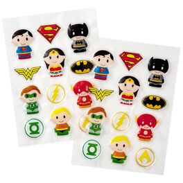 itty bittys® DC JUSTICE LEAGUE™ Puffy Stickers, Pack of 24, , large