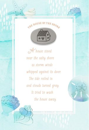 House By the Shore Encouragement Card