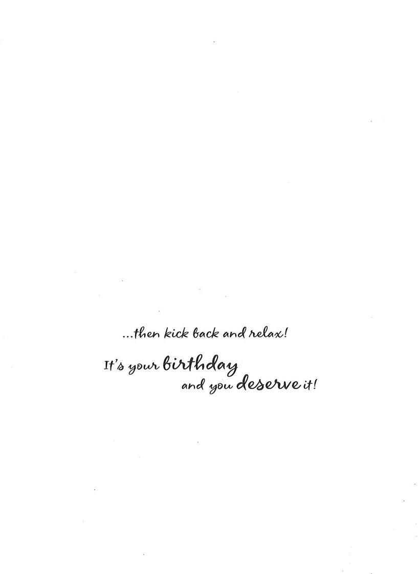Kick back and relax birthday card greeting cards hallmark kick back and relax birthday card m4hsunfo