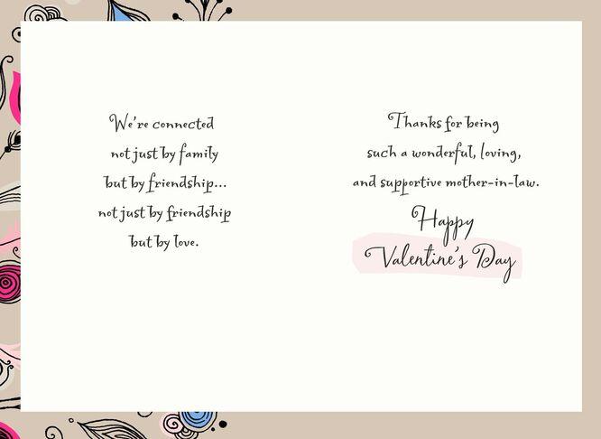 My MotherinLaw My Friend Valentines Day Card Greeting Cards – Friend Valentines Card