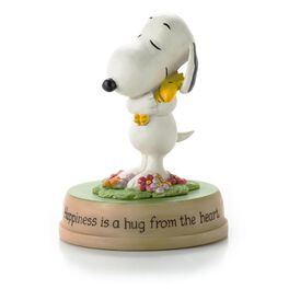 Peanuts® Hug from the Heart Figurine, , large