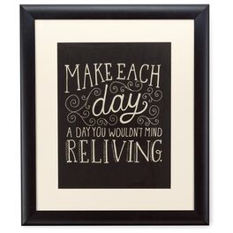 Make Each Day 20x24 Print With Matted Frame, , large