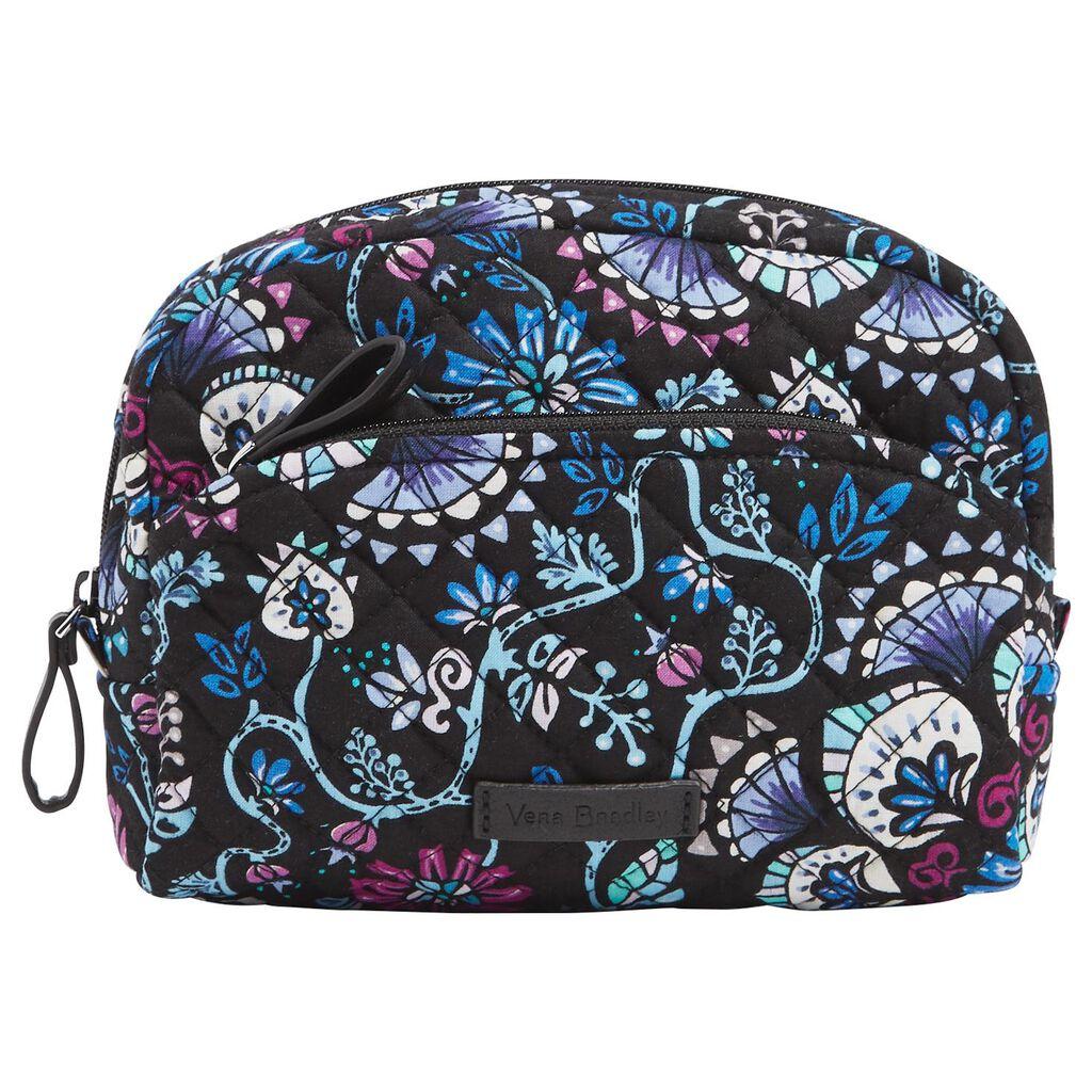 Vera Bradley Iconic Medium Cosmetic Bag In Bramble