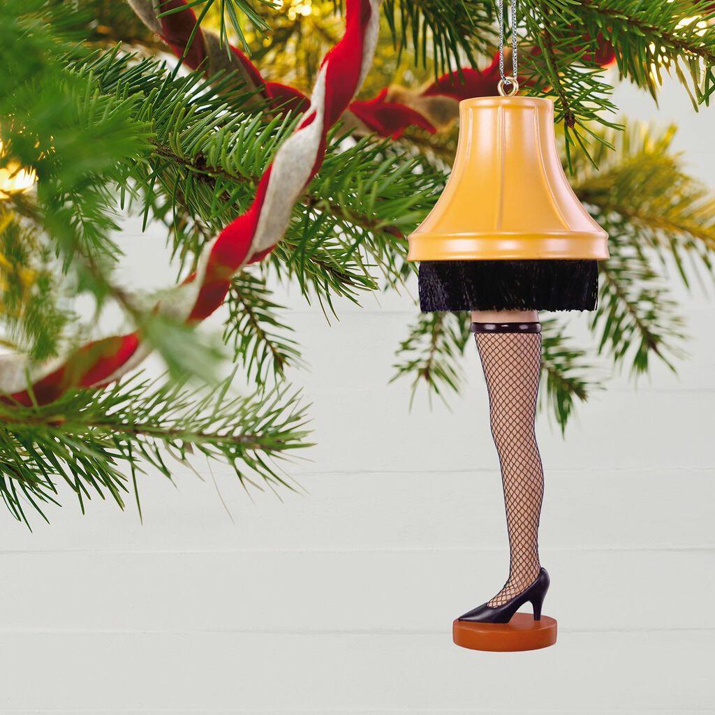 A Christmas Story Leg Lamp Ornament Keepsake Ornaments Hallmark