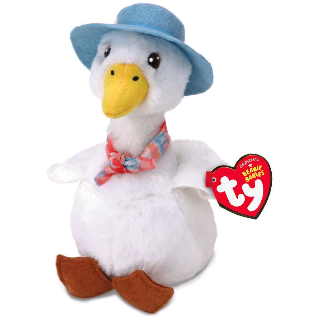 Ty® Beanie Babies Jemima Puddle-Duck Stuffed Animal 6fa0d116346