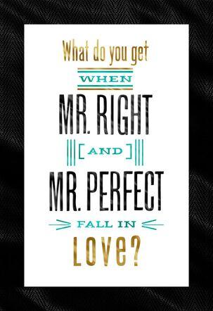 Two Grooms Wedding Card