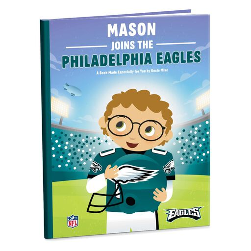 Personalized books hallmark nfl football personalized book negle Image collections