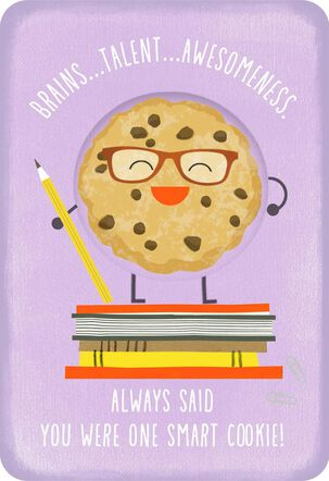 One Smart Cookie Congratulations Card