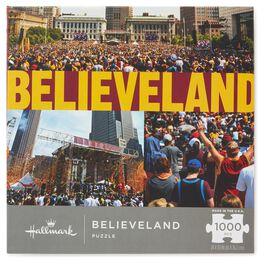 Believeland Cleveland Basketball Celebration 1000-Piece Puzzle, , large