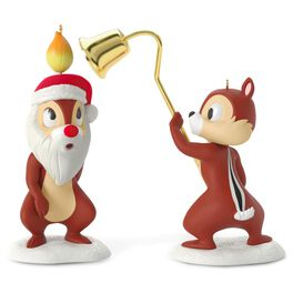 A Merry Pair Chip and Dale Set of 2 Ornaments, , large
