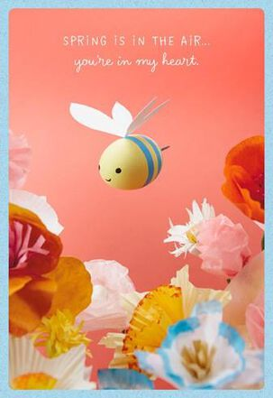 Wish We Could Bee Together Easter Card