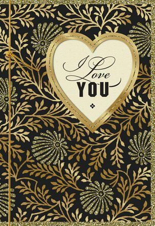 You're the Only One for Me Love Card