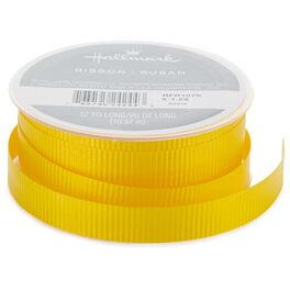 "Yellow 1/2"" Curling Ribbon, 12 yds., , large"