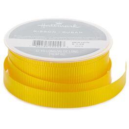 "Yellow 1/2"" Curling Ribbon, 12 yds., , large"