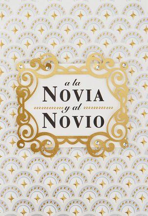¡Brindando Hoy En Su Honor! Spanish-Language Wedding Card